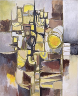 Yellow Abstract, c. 1962