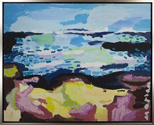 """Plage au Jour Venteux """"Beach on a Windy Day"""", 2012"""