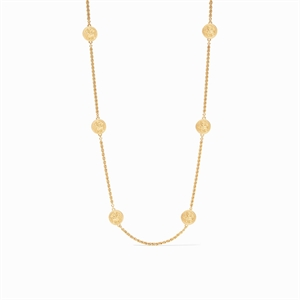 Coin Station Necklace, 2020