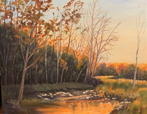 Millcreek at Sunset by Cathie Thompson