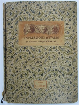 Impressions D'Italie all signed, 1906
