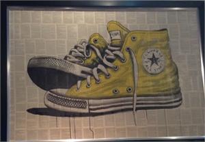 Shoescape Yellow Converse, 2016