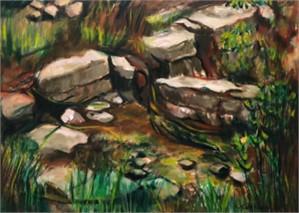 Landscape with Rocks