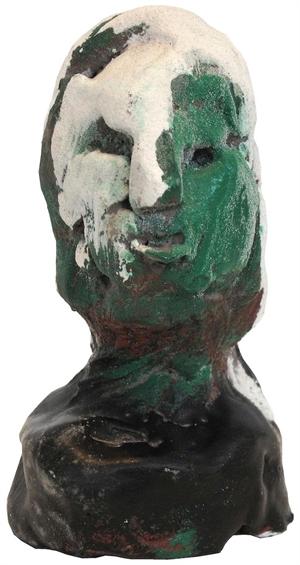 Green Face White Hair, c2005