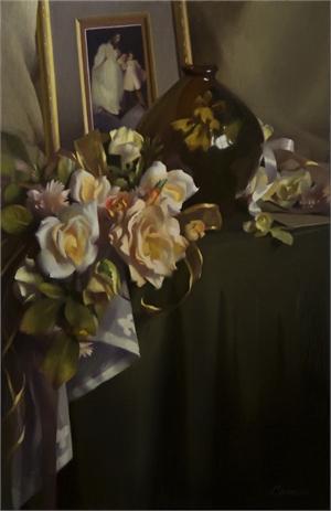 """MARGARET M CARRIER, """"The Bouquet"""""""