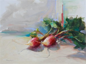 A Pair of Radishes, 2017