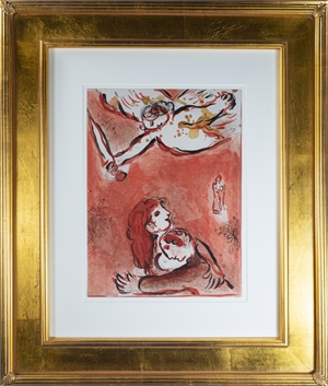 Le Visage d'Israël (The Face of Israel), M 231 by Marc Chagall