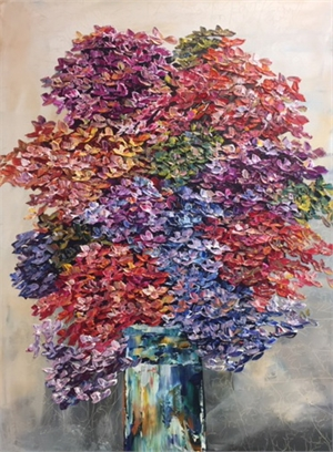 Floral Hydrangea