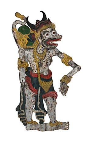 Shadow Puppet Wayang Purwa, 19th C.