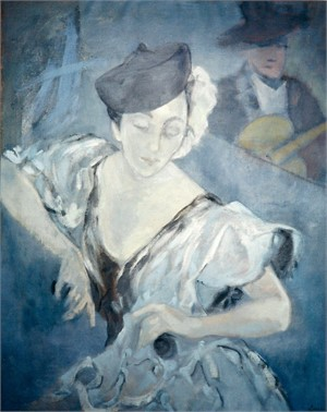 Self Portrait: Flamenco, 1939