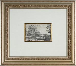 Le Point de bois (Rebecca & Eliezer), 1638-41