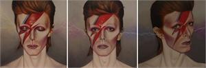 Bowie Triptych, 2016