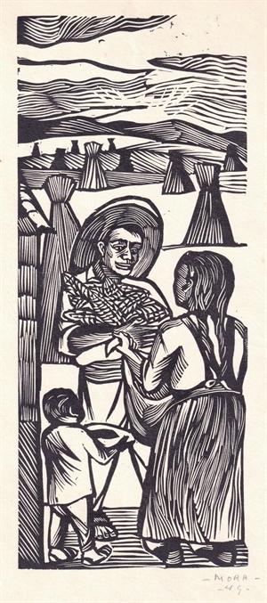 Ofreciendo la Cosecha, 1949