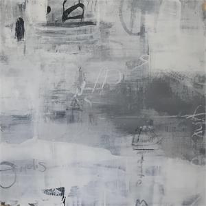 Palinsesti Bianchi, II (White Palimpsests, II) by Allison B. Cooke