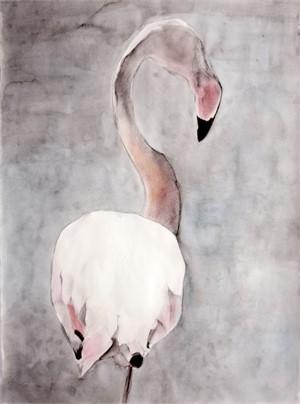 """Camargue Flamingo """"Balancing Act 2"""", 2015"""