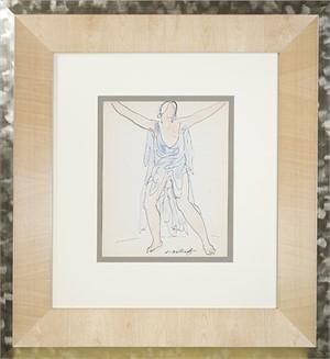 Isadora Duncan (Blue), c.1920