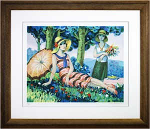 Jeunes Filles sous les Arbres (Girls under the Trees) (42/200), 1986