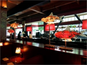 Lighted Fish at Dahlia Lounge | Elaine Hanowell, 2016