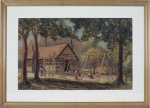 Lake Bluff School Playground- Shorewood, WI, 1949