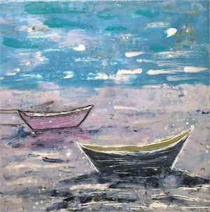 Boat Series: Three Dories at Rest