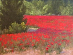 Poppies by Beverly Ford Evans