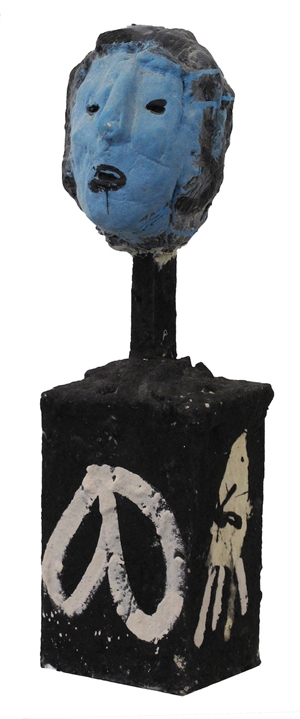 Blue Face Man, 1996
