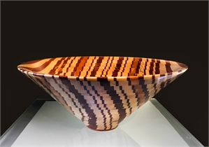 Squiggly Bowl by Steve Howland