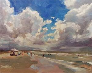 Salient Clouds at Kiawah Beach