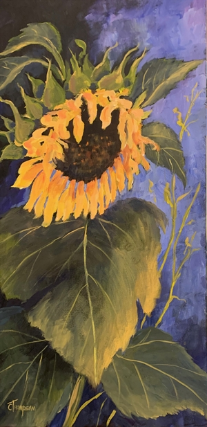 Sunny Sunflower by Cathie Thompson