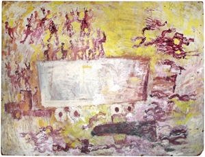 Truck and Figures with Sage, c.1985