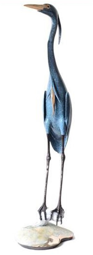 Blue Heron on Sand Base (22/65)