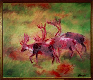 Caribou in the Mist, 2004