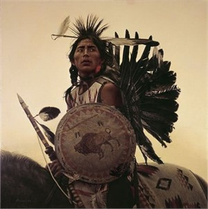 Young Plains Indian - James Bama  (45/150), 2019