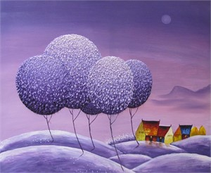 Violet Dreams I