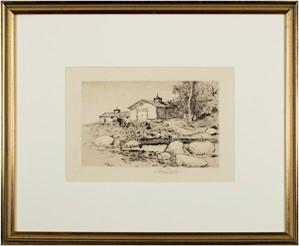 Old Barns, 1882