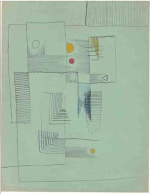 Boxes, Lines, Circles, c. 1938-40
