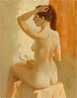 Dmitri Vladimirovich Savinkov, Naked with a Mirror