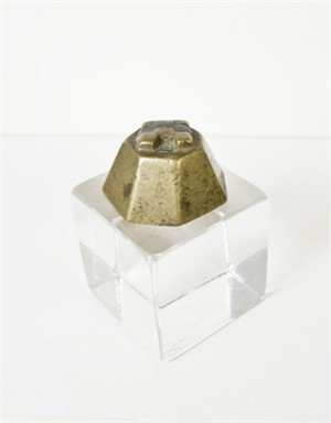 Core Form Ashanti Weight, 19th c