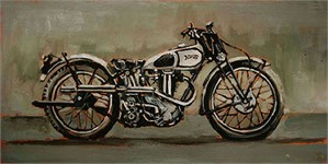 1940's Norton Motorcycle