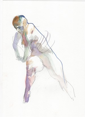 Watercolor Gesture 02, 2018