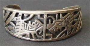 Bracelet - Vintage Mexican Cuff