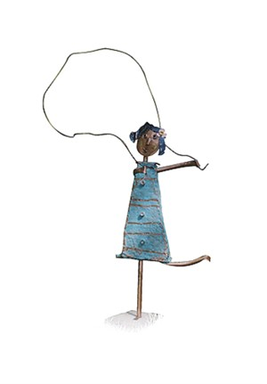Girl Jumping Rope, 2004