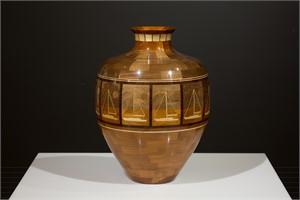 Silent Night Vase by Steve Howland