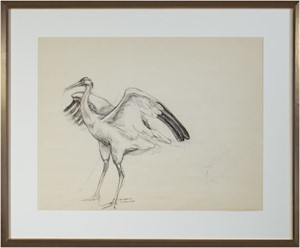 "Crane sketch for ""The Gift"", 1990"