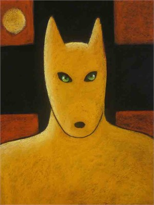 SOLD 'Yellow Wolf Warrior'