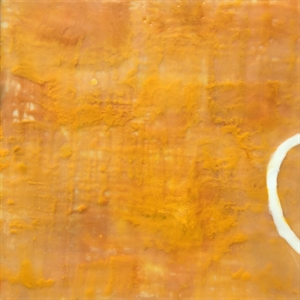 Meditation on Color: Orange with Semi Circle
