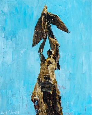 Phoenix Rising No. 2 by Plaid Columns