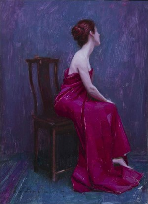 A Study in Purple and Red