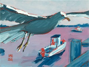 Red Line Gull, 2018
