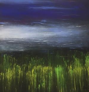 Tall Grass, Blue Sky